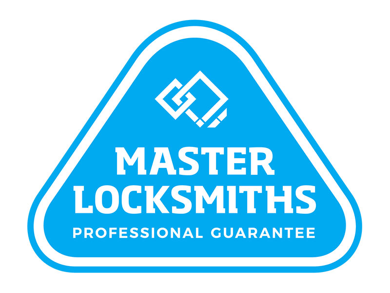 Master Locksmiths Professional Guarantee Logo