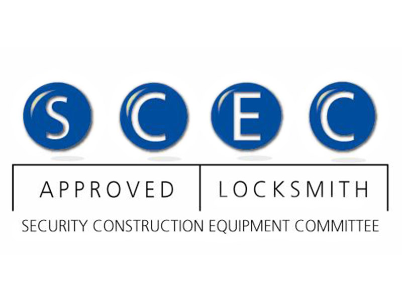 SCEC Approved Locksmith Logo